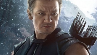 A New 'Avengers: Age Of Ultron' Clip Features Hawkeye vs. Quicksilver