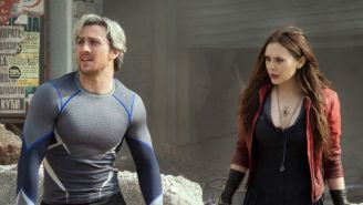 The Newest 'Avengers: Age Of Ultron' Featurette Gives A Much Closer Look At Quicksilver & Scarlet Witch
