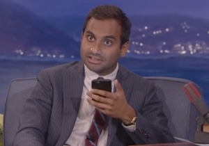Aziz Ansari Shared His Favorite Memory Of Longtime Friend Harris Wittels On 'Conan'