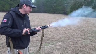 Watch This Guy Capture The American Spirit Of Innovation By Cooking Bacon With An M-16