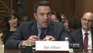 Ben Affleck Slipped A 'Batman' Joke Into His Senate Testimony