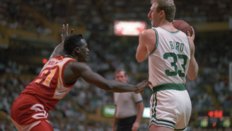 Larry Bird On Hawks' New Statue Honoring Dominique Wilkins: 'I'm Pretty Sure It's Not Made In A Defensive Stance'