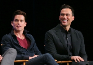 Matt Bomer and Cheyenne Jackson Check In To 'American Horror Story: Hotel' As Jessica Lange Checks Out