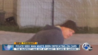 Police In Ohio Are Looking For This 'Bowel Movement Bandit' After A Series Of Car Poopings
