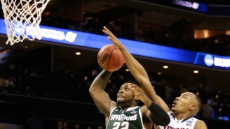 'A Bunch Of Warriors': Tom Izzo's Spartans Scrap Their Way To Yet Another Sweet Sixteen