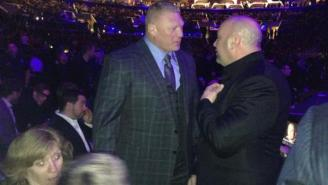 WWE Creative's Coming Up With A Backup Plan In Case Brock Lesnar No-Shows WrestleMania