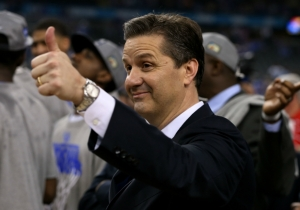 This Kentucky Fan Got A Tattoo Of John Calipari's Face With '40 And Oh Well'