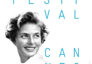 Ingrid Berman's smile is the centerpiece of the 68th Cannes Film Festival poster