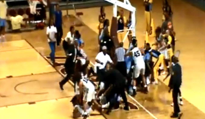 Video Has Emerged From A Brawl At A Women's College Basketball Game, And It's Ugly