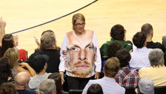 This Sweater Of Chris Kaman's Face Is Just As Terrifying As You'd Think
