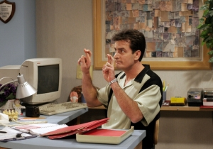 Charlie Sheen Predictably Takes The Crazy Road Over Chuck Lorre's 'Two And A Half Men' Finale