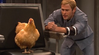 'SNL' Scorecard: Chris Hemsworth Works Surprisingly Well With A Live Chicken