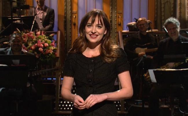 Dakota Johnson SNL