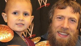 Daniel Bryan's WWE Hall Of Fame Speech For Child Cancer Victim Connor Michalek Might Make You Cry