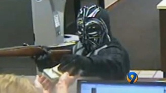 Someone Dressed Up Like Darth Vader And Robbed A Credit Union In North Carolina