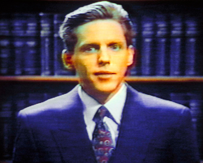 David Miscavige in 1991, one of two Miscavige pictures on Getty. Looks totally sane!