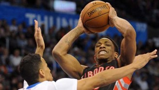 DeMar DeRozan Is Still Really, Really Good At Dunking, You Guys