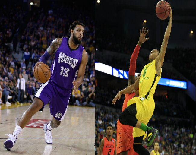 Derrick Williams and Joseph Young