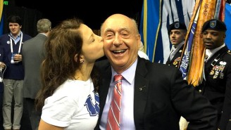 Here's A Photo Of Ashley Judd Kissing Dick Vitale On The Lips You Never Asked For