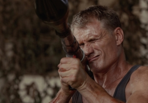 Dolph Lundgren Wants To Kill Ron Perlman In This Exclusive Poster For 'Skin Trade'