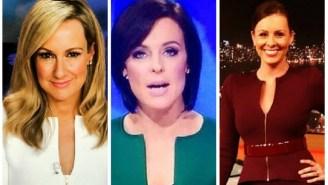 A Penis-Shaped Jacket Epidemic Is Plaguing Australia's News Anchors