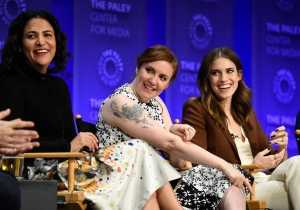 Lena Dunham And Allison Williams Discuss 'Girls' Sex Scenes At PaleyFest