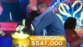 A man just won $500,000 for answering the easiest question ever