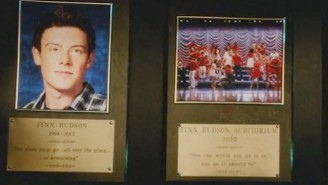 'Glee' Paid One Last Tribute To The Late Cory Monteith In A Tearful Series Finale