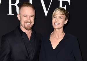 'I've Never Come More': Robin Wright On Her Sex Life With Ben Foster