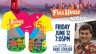 A Minor League Baseball Team Is Hosting 'Full House Night' With Dave Coulier