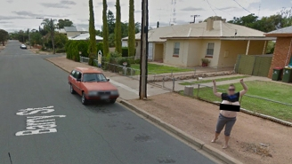 This Woman Flashed Google Street View To 'Check It Off Of Her Bucket List'