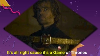 This 'Saved By The Bell' And 'Game Of Thrones' Mashup Has All The Dancing Tyrion You Need