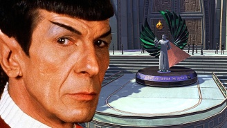 Leonard Nimoy Now Has Several Permanent Memorials In 'Star Trek Online'