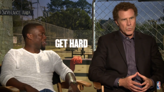 "Will Ferrell And Kevin Hart ""Preview"" Sunday's Rockets-Wizards Game on ABC"