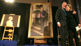 There's A Secret Reference To Monica Lewinsky In Bill Clinton's Official Portrait
