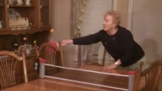 Allow This Vine To Demonstrate Why Grandmas And Ping Pong Don't Mix