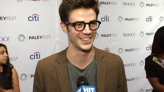 Grant Gustin explains why 'Flash' won't get too dark, plus The 3 H's of 'Flash'