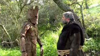 Finally, Hodor And Groot Throw Down In A Rap Battle