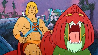 This Seems To Be Our First Look At Battle Cat In The 'Masters Of The Universe' Movie