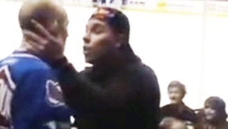 Someone Punched A Woman In The Stands At A Hockey Game And All Hell Broke Loose