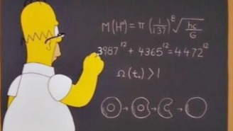 Noted Physics Prodigy Homer Simpson May Have Predicted The Mass Of The Higgs Boson Particle In 1998