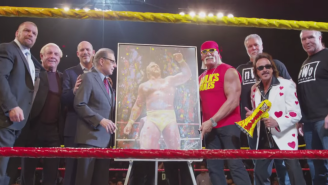 WWE Immortalized Hulk Hogan With A Banner At Madison Square Garden (And It's Already Gone)