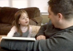 This Little Girl Had A Flatulent Reaction To Being Told She's Going To Be A Big Sister