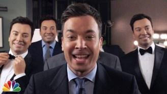 Watch Jimmy Fallon Sing 'Barbara Ann' With Five Creepy Wax Dummies