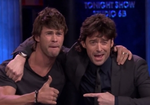 Chris Hemsworth Put On A Mullet And Played Musical Beers With Hugh Jackman And 'SNL' Cast Members
