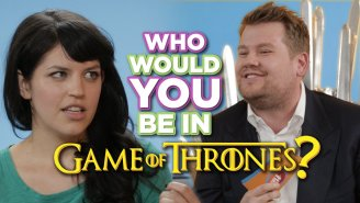 James Corden Wants To Know, Who Would You Be In 'Game Of Thrones'?
