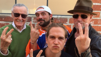Your First Look At 'Mallrats 2' Has Jay And Silent Bob Reuniting With Michael Rooker And Stan Lee