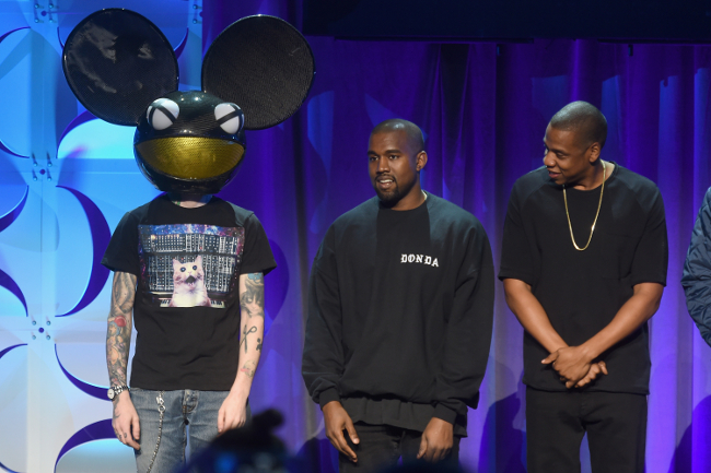Jay Z Kanye and Deadmau5 announce Tidal