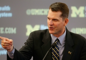 The Woman Who Michigan Coach Jim Harbaugh Helped After A Car Crash Had 'No Idea' Who He Was