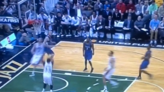 Joe Ingles' Lob Pass To Trevor Booker Was Only 5 Feet Too High